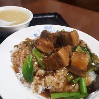 豚角煮丼(香港市場 (ホンコンイチバ))