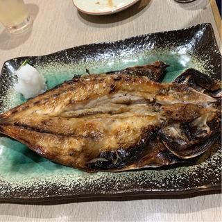 アジの干物(家庭料理 えんや)