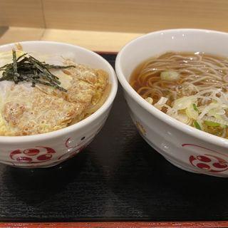 ミニカツ丼セット(いろり庵きらく 府中本町店 (【旧店名】小竹林))