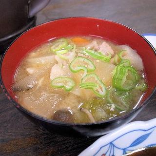 豚汁(伏見家 )