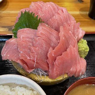 本まぐろ中トロ定食(タカマル鮮魚店 2号館 )