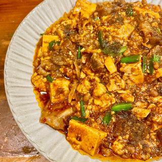 親分風麻婆豆腐(大衆食堂ヒザコシ )