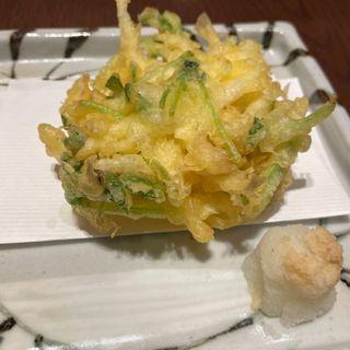 白魚天ぷら(神楽坂九頭龍蕎麦 msb Tamachi)