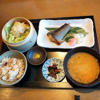 一汁三菜御膳 銀鱈の西京焼き