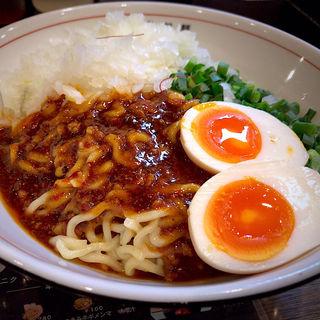 しびれ麻辣油そば+煮玉子(はてな 河原町店 )