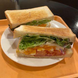 BLTEトーストサンド(カフェ グレース )