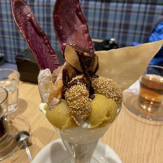 贅沢『芋』パフェ チョコタイプ(高級芋菓子 しみず)