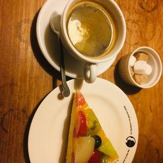 ケーキセット(グリーンハウスシルバ)
