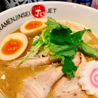 鶏煮込みチャーシュー(ラーメン人生JET (ラーメン人生ジェット))