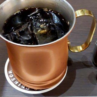 カフェインレス珈琲(アイス)(星乃珈琲 イオンモール新利府店)