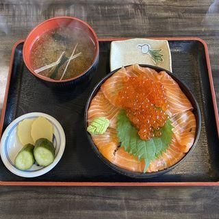 トロサーモンいくら丼(まるよ 西条店 )