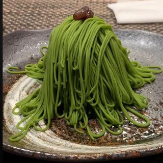 抹茶モンブラン(宇治園 裏参道ガーデン)