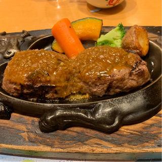 げんこつハンバーグ(炭焼きレストランさわやか 新静岡セノバ店 )