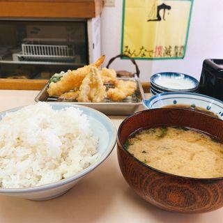 天ぷら定食(天ぷら屋北)