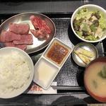 牛タン盛り合わせ定食(日本焼肉党 )