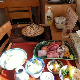 お刺身定食(江戸家)