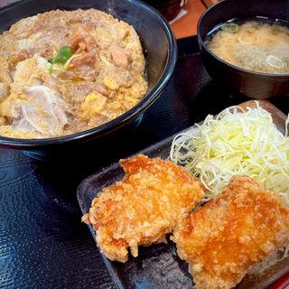 親子丼セット(からやま 学芸大学店)