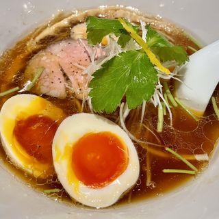 味玉醤油らぁ麺(鳥さわ 学芸大学)