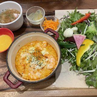 海老とモッツァレラのイセエビ風味クリームドリア(神戸元町ドリア ルミネ池袋店 )
