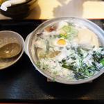 鍋焼きうどん(大助うどん 別府店)