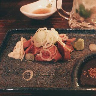 鶏白レバー刺(テンセイ )