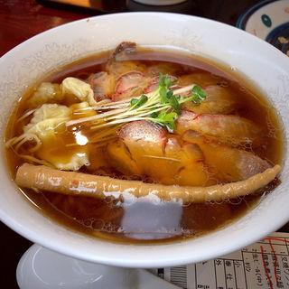叉焼雲呑(舌)麺(中嘉屋食堂 麺飯甜 仙台駅構内店 )