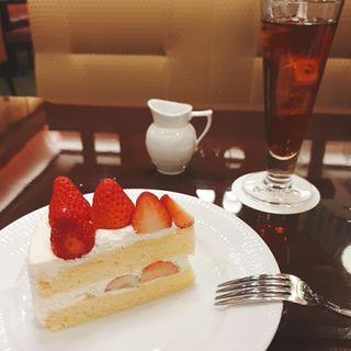 ケーキ付きコーヒー(椿屋珈琲店 神楽坂茶房)