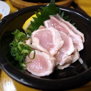 鶏モモのタタキ(やきとん まるば )