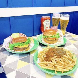 オリジナルプレミアムバーガー(サラダセット)(Teddy's bigger burgers)