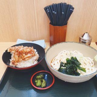 ミニ海老かき揚げ丼セット