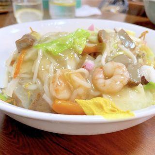 皿うどん(揚げ麺)