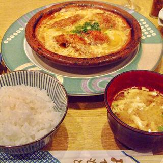 柳川鍋定食(新宿割烹 中嶋 (しんじゅくかっぽう なかじま))