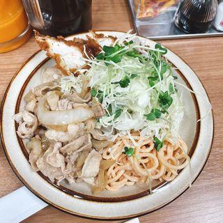 チキンカツ生姜焼きセット(キッチン南海 神保町店)