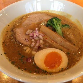 SPICY CURRY NOODLES EDOAMA BASE(限定)(麺家 喜多楽 (めんや きたら))