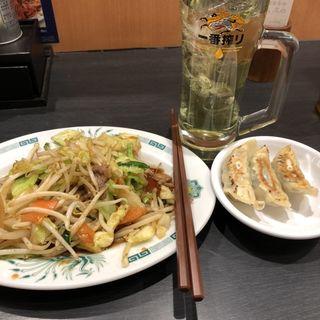 餃子3個(日高屋 新八柱店 )