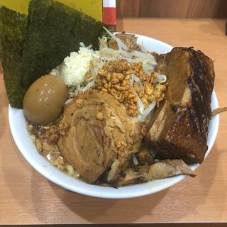 肉マシ(らーめん忍者 )