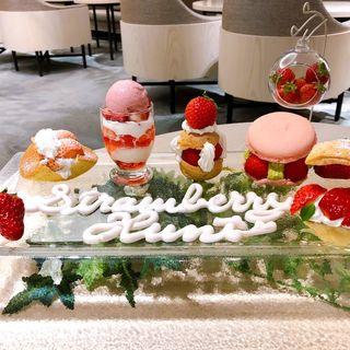 『 Strawberry Hunt(ストロベリー ハント)』(リーガロイヤルホテル京都 )