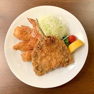 極フライ盛り膳(田中田式 海鮮食堂 魚忠 西麻布店)