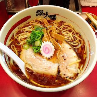 こいくち醤油ラーメン <1番人気>(総大醤 (そうだいしょう))