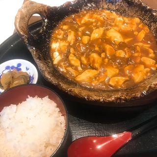 甘味噌麻婆豆腐セット(中国料理 璠房(ファンファン))