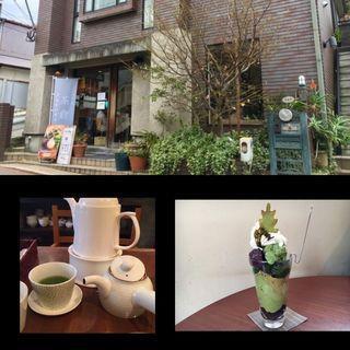 ミニ抹茶パフェ(日本茶専門店 茶倉)