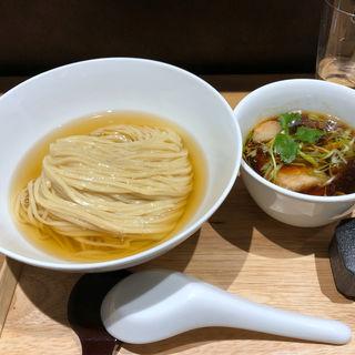 鰹昆布水つけ麺(醤油)(らぁ麺や嶋)