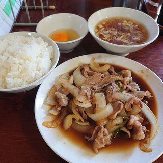生姜焼き定食(上海楼 )