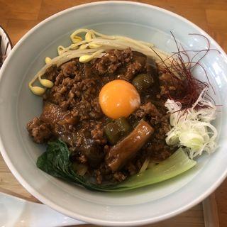 麻婆麺(自家製麺と定食 弦乃月)