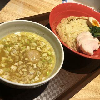 鶏々塩つけ麺(らーめん みふく )