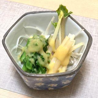 春の旬菜酢の物