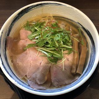 飛魚マグロ節ラーメン(麺屋 マルヨシ)