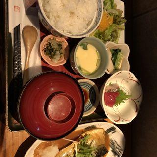 鯖の味噌煮定食(伊達路 (だてじ))