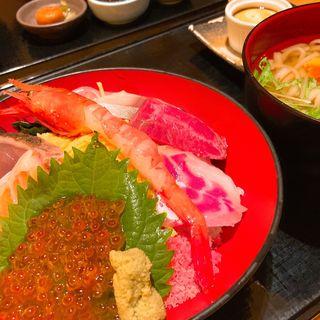 海鮮丼セット(たちばな グランフロント大阪 )