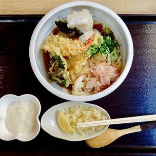 特上ぶっかけ+餅+山芋